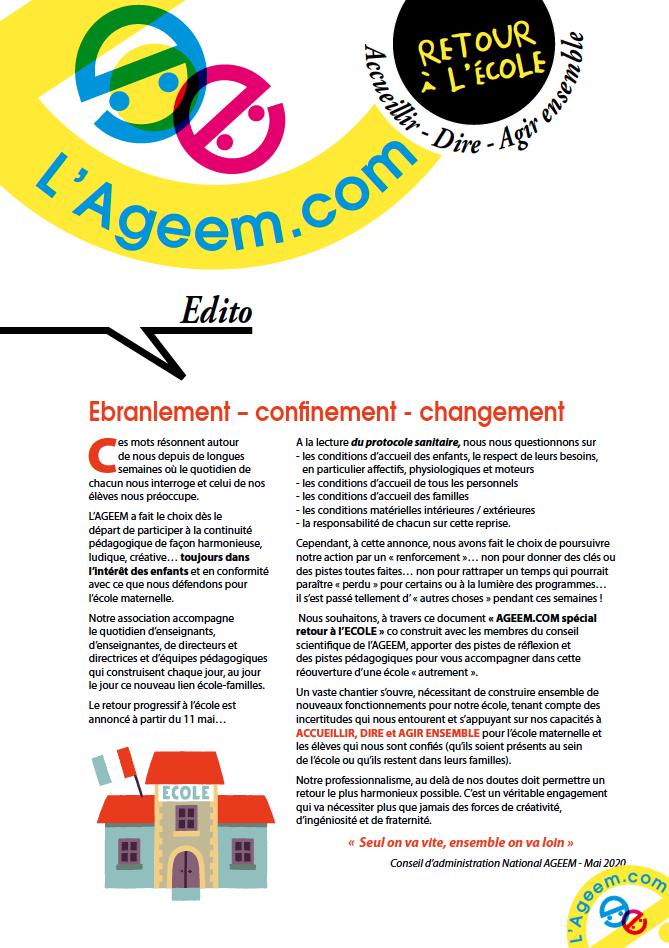 AGEEM.COM : Accueillir – Dire – Agir ensemble