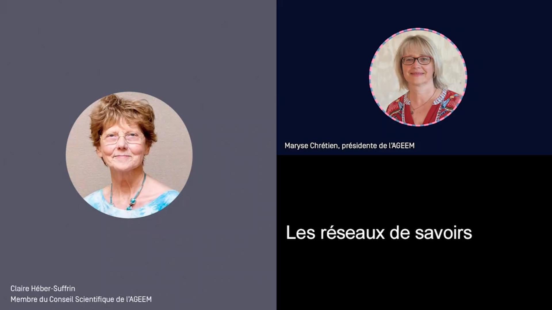 Les réseaux de savoirs : entretien avec Claire Héber-Suffrin